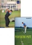 Balíček (1ks Ilustrovaná pravidla golfu 2008 - 2011 +  1ks Perfe